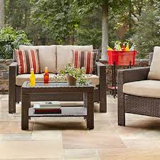 Home Depo Patio Furniture Nice Wicker Patio Furniture Cushions With Outdoor Cushions Outdoor