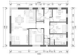 Haus Grundriss Bungalow München 107qm 4 Zimmer Haus Grundriss