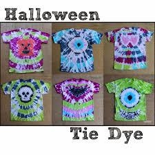 doodlecraft halloween tie dye party