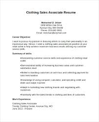 Resume Objective For Retail Job by Sales Resume Objective International Sales Resume Example Sample