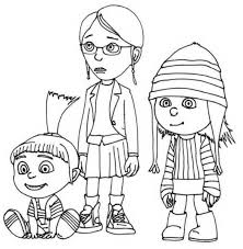 animations 2 coloring pages minions coloring pages
