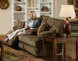 Chenille Reclining Sofa Reclining Loveseat With Storage In Tobacco Chenille By Catnapper