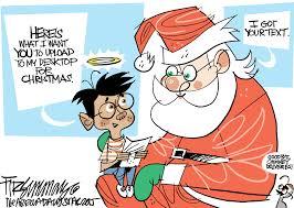 political cartoons merry christmas to all u2013 the mercury news