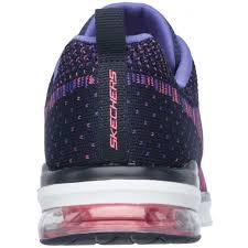 skechers skech air infinity ladies training shoes pink start