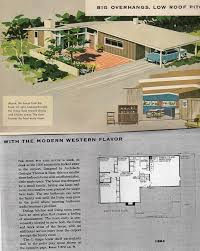 Mid Century Modern Ranch House Plans 1010 Best Mid Century Home Plans Images On Pinterest Vintage
