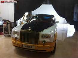 rolls royce phantom gold gold plated rolls royce ghost by cohen u0026 cunild spotted gtspirit