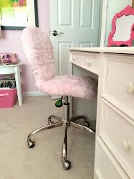 pink furry desk chair fuzzy office chair fresh desk chairs pink fur desk chair diy furry