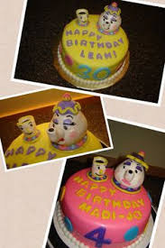 mrs potts and chip cake cakes and cupcakes for kids birthday