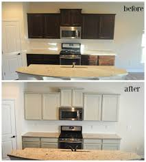 Painted Old Kitchen Cabinets We Painted Our Brand New Kitchen Cabinets And Here U0027s How It Turned