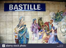 Paris Wall Murals Wall Mural At Bastille Station Paris Metro Paris France Europe