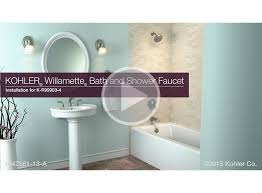 video k r99903 4 willamette bath and shower faucet installation