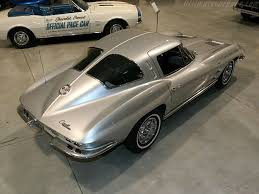 year corvette made 1963 chevy corvette chevy only made this split window for only