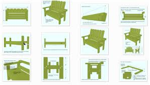 Free Plans For Garden Furniture by Free Garden Bench Guide Simple To Build Garden Bench