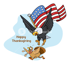 Usa Flag Vector Eagle Hunting Turkey Bird With Usa Flag Vector Royalty Free Stock