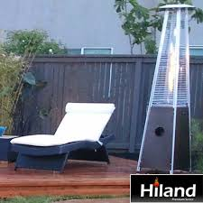 outdoor propane patio heaters stainless steel and tabletop