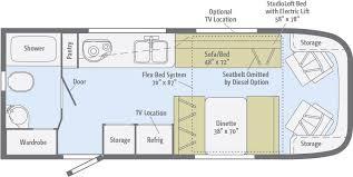 class b rv floor plans trend floorplans winnebago rvs