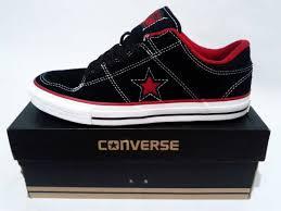 Sepatu Converse Black converse os dx skate v ox suede black toko serba