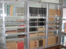 Book Cabinet With Doors by Library Book Shelves Bookstack Storage Shelving Metal Bookcase