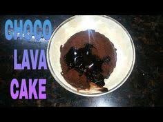 eggless molten choco lava cake in microwave chocolate fondant