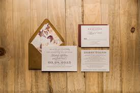 wedding invitations okc burgundy