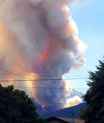 Wild Fire Update Montana by Montana Firefighters Battling Roaring Lion Fire Nbc News