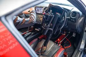 Nissan Gtr Interior - watch a remote control nissan gt r take on silverstone