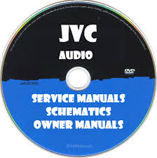 jvc audio owner service manuals pdfs on dvd huge collection