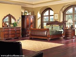 Bedroom Furniture  Modern Classic Bedroom Furniture Compact - Cowhide bedroom furniture