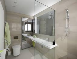 small bathroom design patterned floor vanity black detail