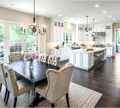 kitchen living room ideas open concept kitchen living room small house small open plan