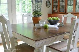 Painted Dining Room Furniture Ideas Chalk Paint Dining Room Table Plain Ideas Painted Dining Table