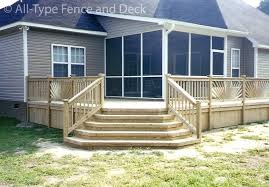 Deck Stairs Design Ideas Deck Stairs Designs With Railing Build Wooden Exterior Stair