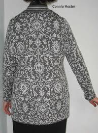 kimono repeat pattern damask knit coat pattern