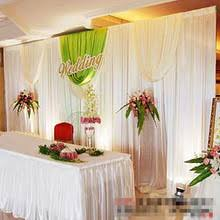 Curtains Wedding Decoration White Swag Curtains Promotion Shop For Promotional White Swag