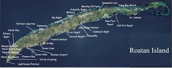 map of roatan honduras map of roatan honduras island house