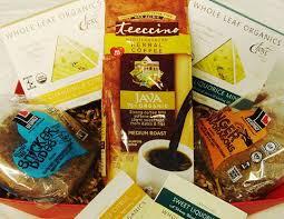gluten free vegan herbal coffee and tea gift fair trade vegan