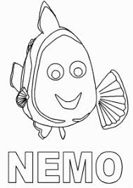 cool finding nemo coloring pages animal dory afraid shark