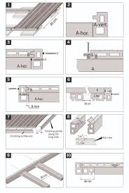 composite decking fixing instructions
