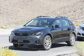 2017 subaru crosstrek colors 2018 subaru crosstrek xv turbo release date spy photo price news
