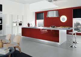 modern red kitchen awesome modern design modern red wall kitchen with white modern