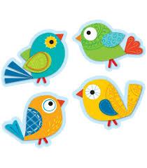 cut outs boho birds cut outs grade pk 5 carson dellosa publishing