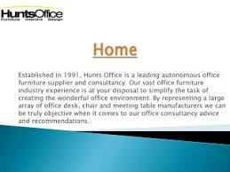 Hunts Office Furniture by Ppt Office Furniture And Workstation Ideas For A Modern