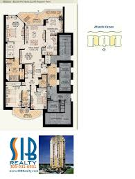 beach club hallandale floor plans acqualina sunny isles beach floor plans sib realty com sib