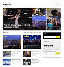 news website themes