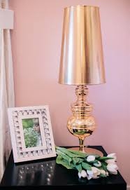 Gold Table Lamp Glam Gold Table Lamp Little Crown Interiors