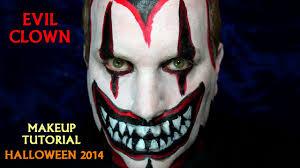 killer clown makeup halloween evil clown makeup tutorial halloween 2014 youtube