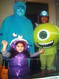 coolest homemade mike wazowski costumes