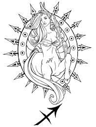 female sagittarius tattoo google search tattoo ideas