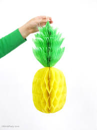 pineapple diy pineapple honeycomb party decorations party ideas party