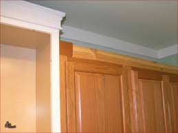 Plain Adding Crown Molding To Kitchen Cabinets On With Amazing - Kitchen cabinets moulding